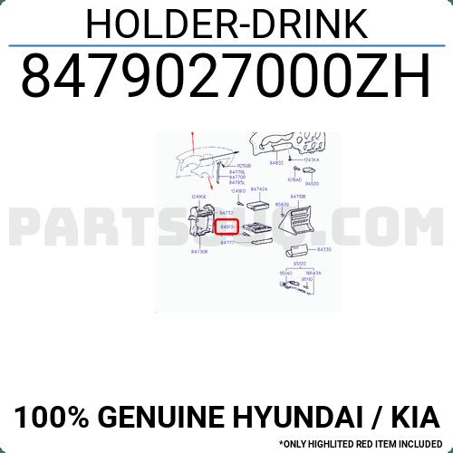 Genuine Hyundai 84790-27000-ZH Drink Holder
