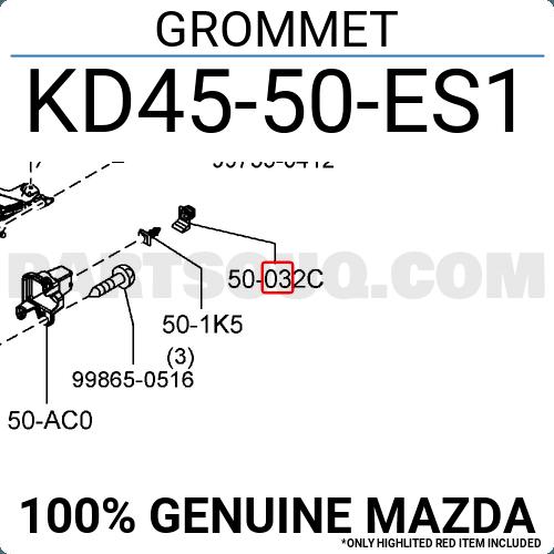Mazda Grommet Kd45-50-Es1