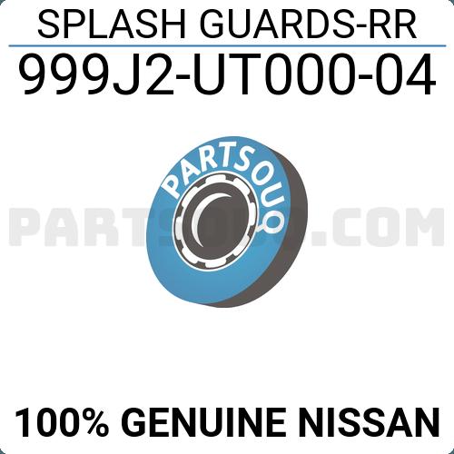 Nissan Genuine 999J2-UT00004 Splash Guard