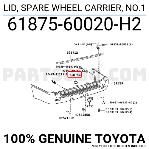 APDTY 140205 Spare Tire Cable Hoist Holder Bracket Assembly Fits 2006-2008 Hyundai Santa Fe Replaces 62850-2B000, 628502B000