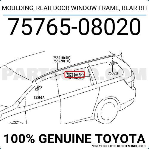 TOYOTA Genuine 71940-47160-G1 Headrest Assembly