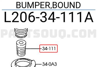 Front Bumper Spring For Mazda Febest L20634111B