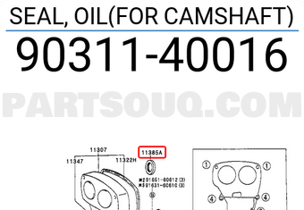 FOR CAMSHAFT 9031140015 Genuine Toyota SEAL 90311-40015 OIL