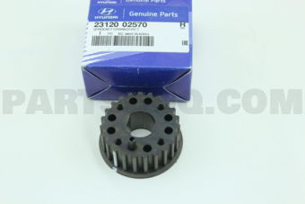 SPROCKET-CRANKSHAFT