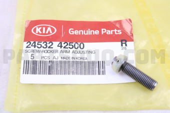 SCREW-ROCKER ARM ADJUSTING