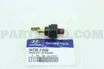 SWITCH ASSY-OIL PRESSURE