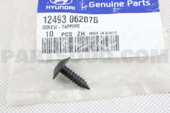 Hyundai / KIA 1249306207B SCREW-TAPPING