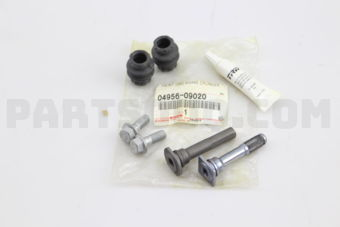Toyota 0495609020 PIN KIT, REAR DISC BRAKE CYLINDER SLIDE