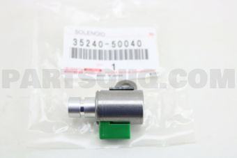 Toyota 3524050040 SOLENOID ASSY, AUTOMATIC TRANSMISSION 3WAY