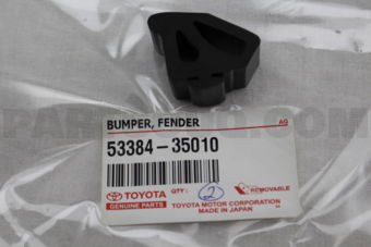 Toyota 5338435010 BUMPER, FENDER TO HOOD