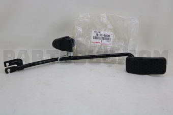 Toyota 7812060080 ROD ASSY, ACCELERATOR PEDAL