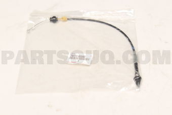 Toyota 7841060090 CABLE ASSY, THROTTLE CONTROL
