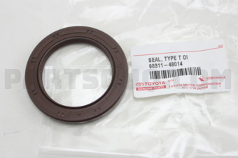 Toyota 9031148014 SEAL, OIL(FOR TIMING CHAIN OR BELT COVER)