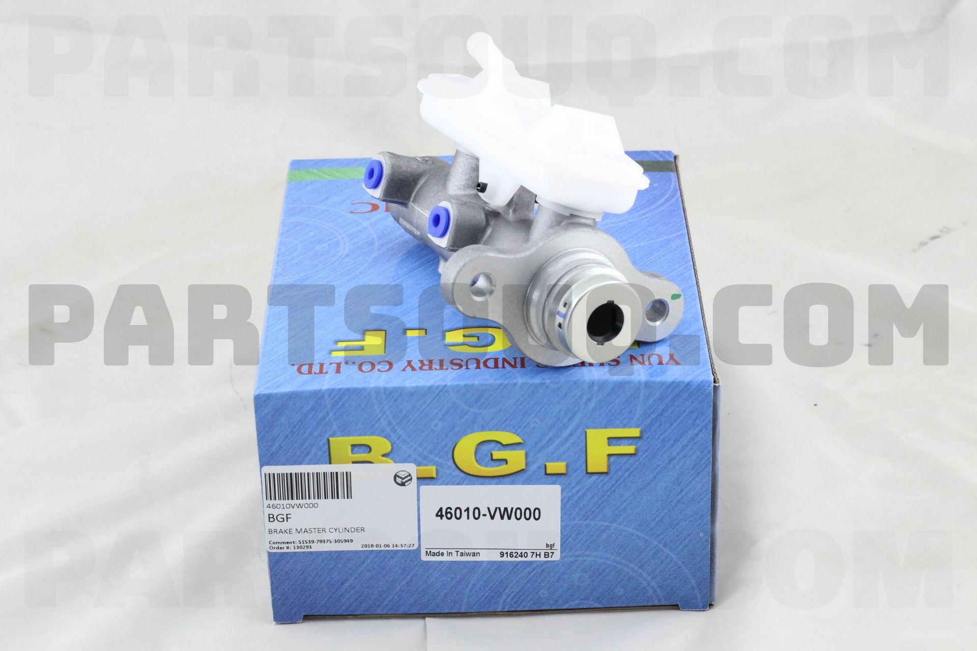 Master Cylinder Price >> 46010vw000 Bgf Brake Master Cylinder Price 40 41 Weight