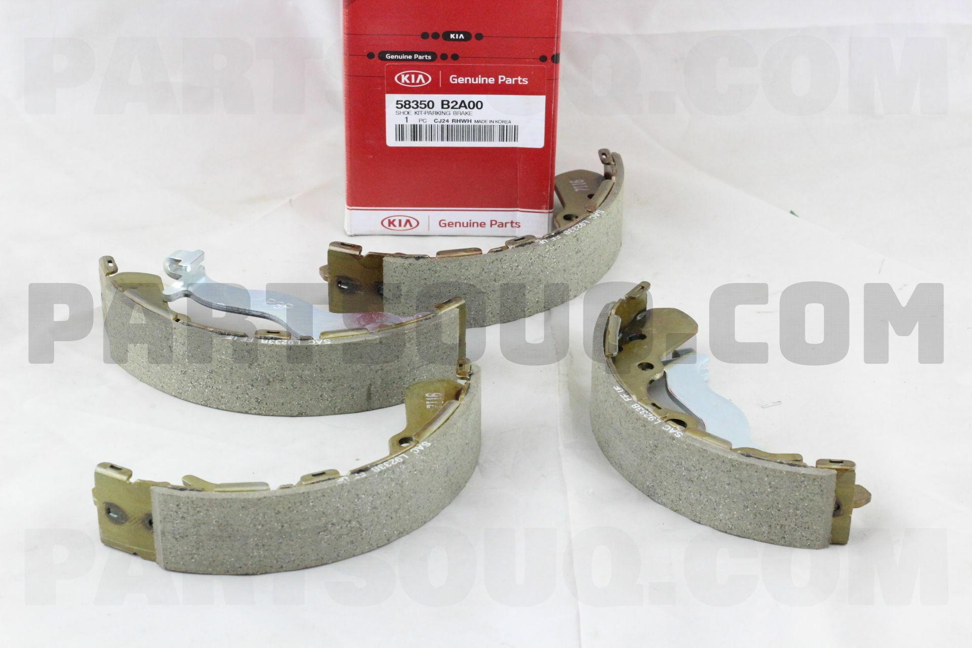 58350B2A00 Hyundai / KIA SHOE KIT-PARKING BRAKE Price: 58 33