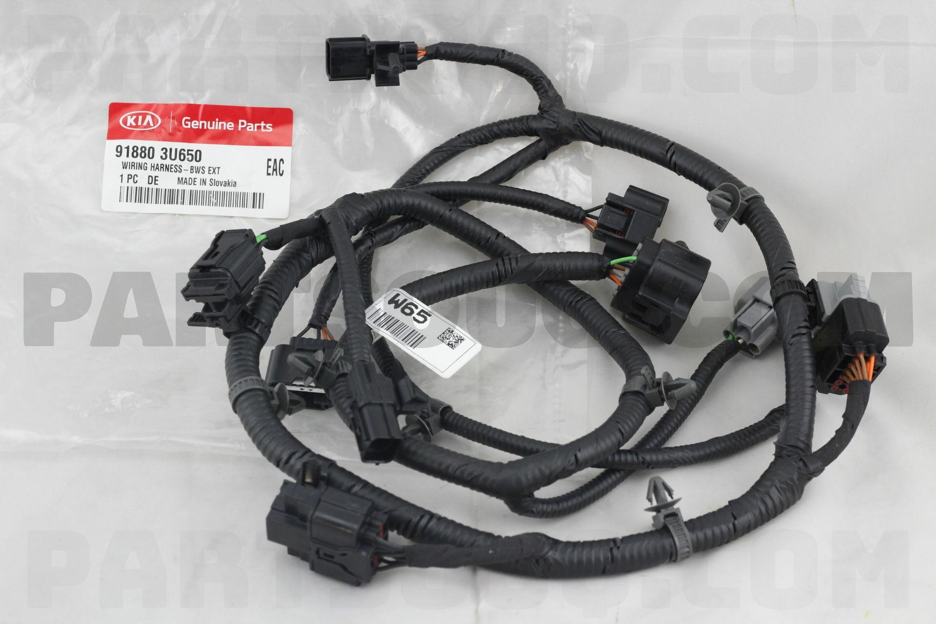 918803u650 Hyundai Kia Wiring Harness Bws Ext Price 9188 Harnesses
