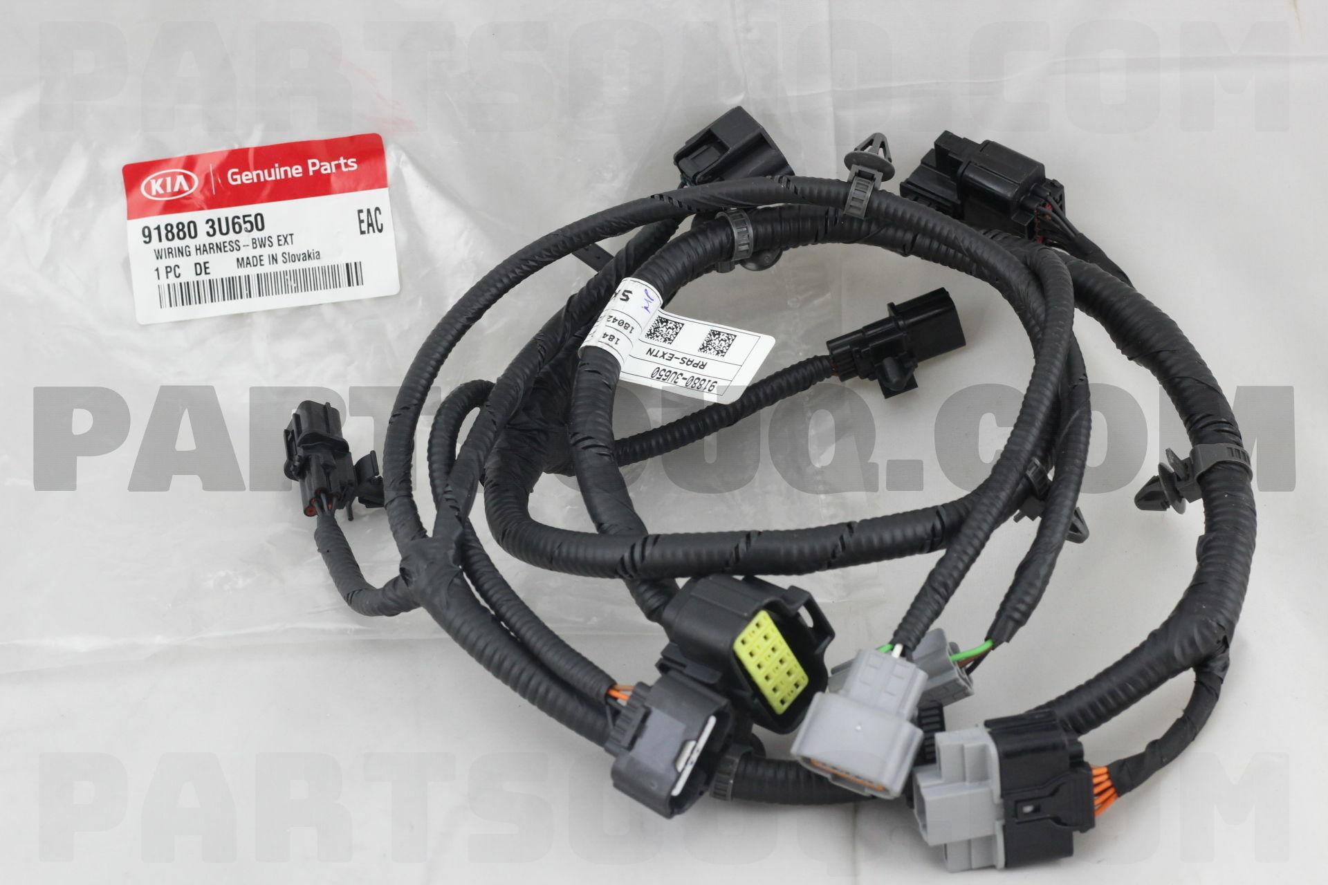 918803u650 Hyundai Kia Wiring Harness Bws Ext Price 9188