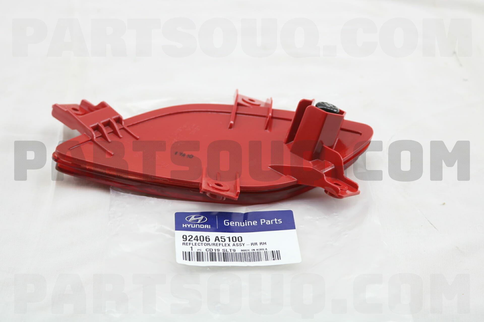 92406A5100 Hyundai / KIA REFLECTOR/REFLEX ASSY-RR RH Price: 24 18