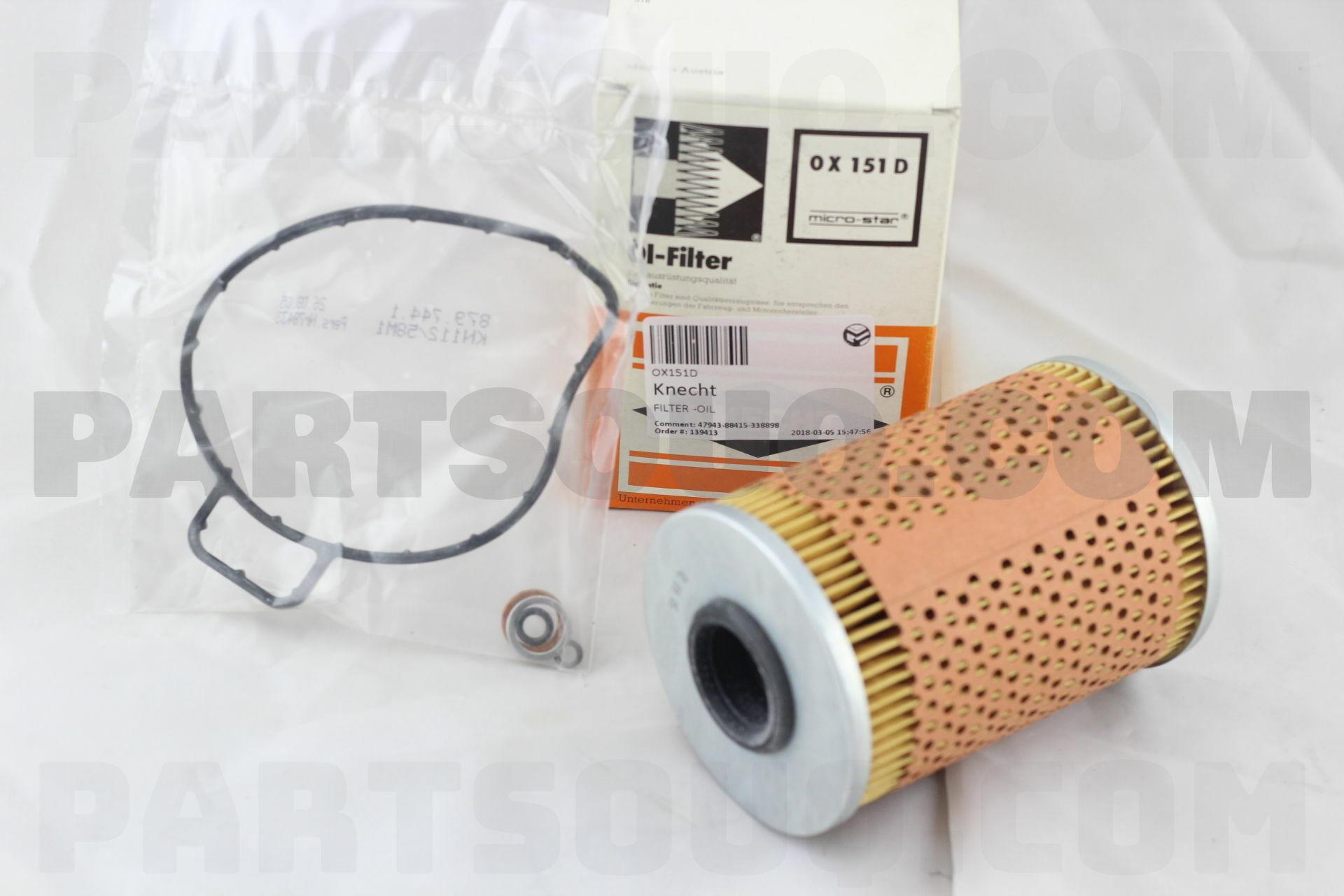 Knecht OX151D Filtre /à huile