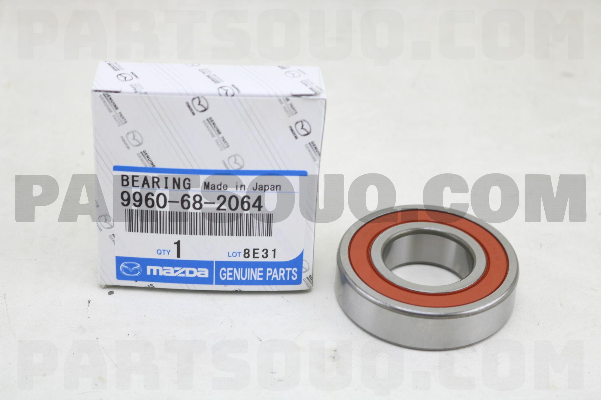 Bearings Febest 9960682064 Ball Bearing For Mazda 30X62X16 ...