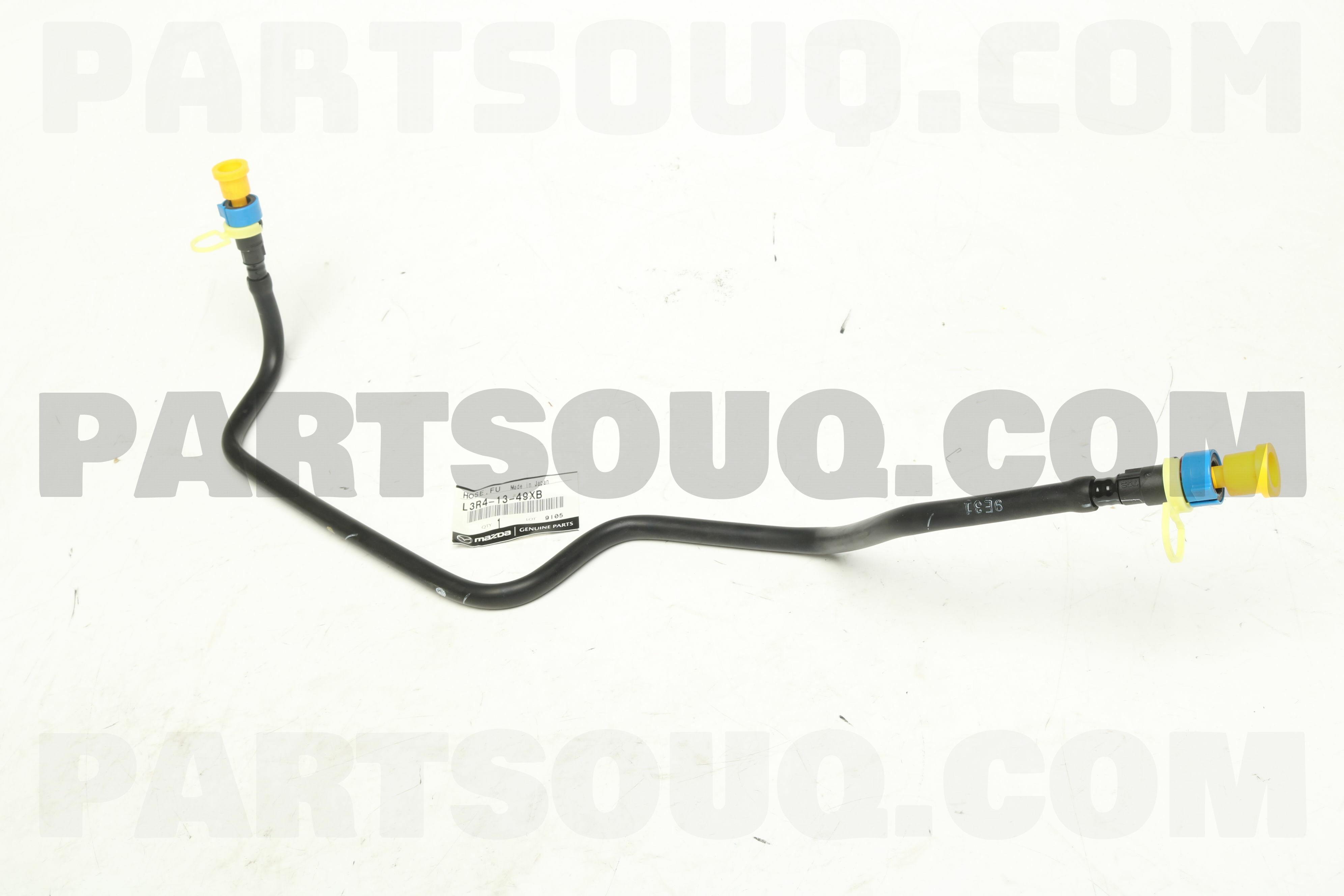 L3R41349XB Genuine Mazda HOSE,FUEL L3R4-13-49XB