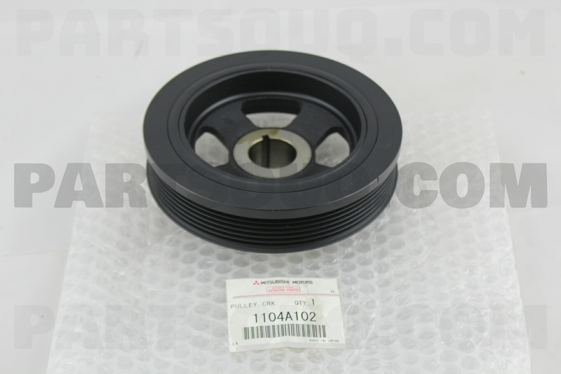 Crankshaft Pulley Engine 4B12 For Mitsubishi Febest 1104A052