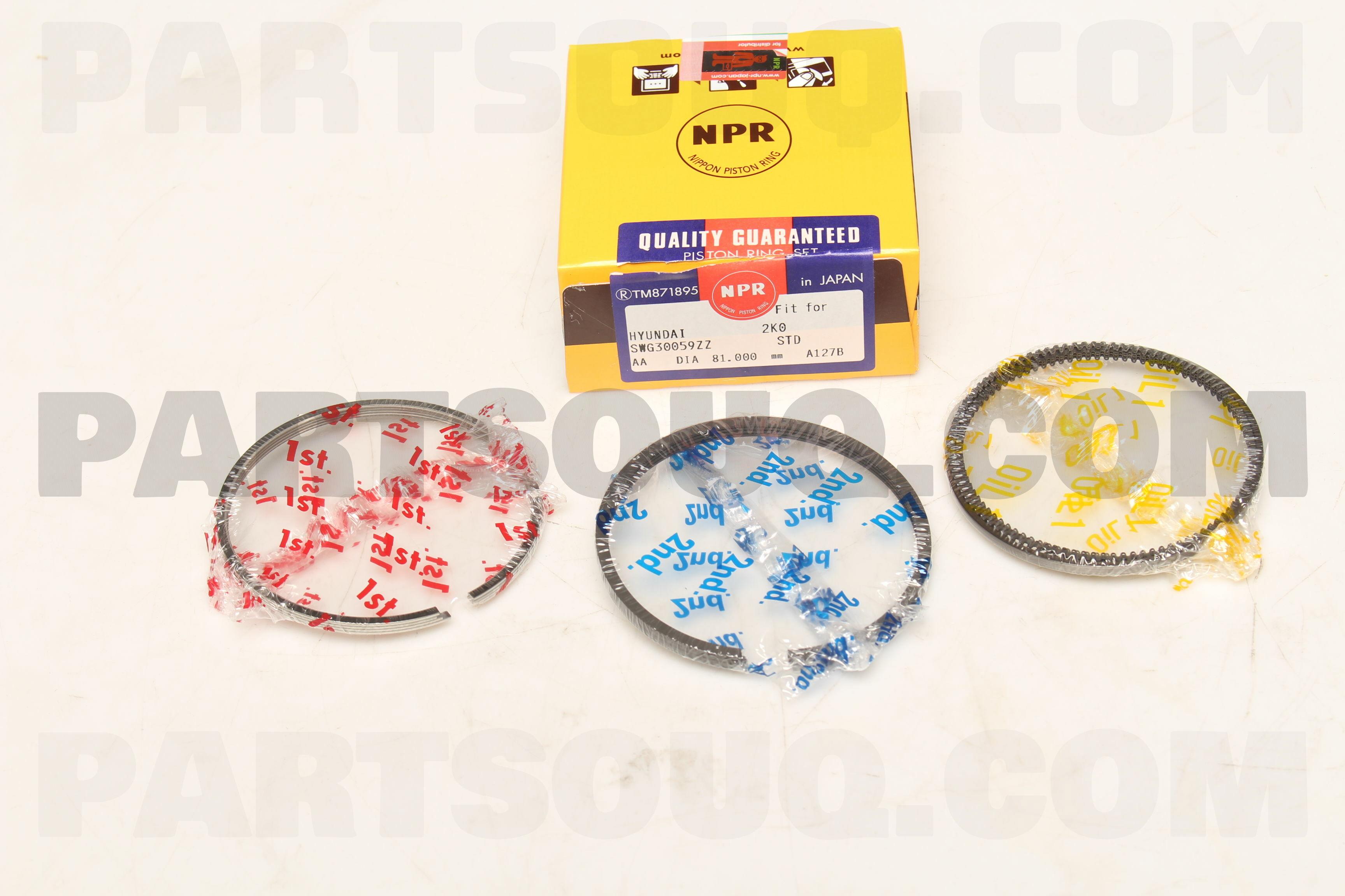 Details about  /Genuine Ring Set-Piston 2304027950 for Kia Carens 2006-2011