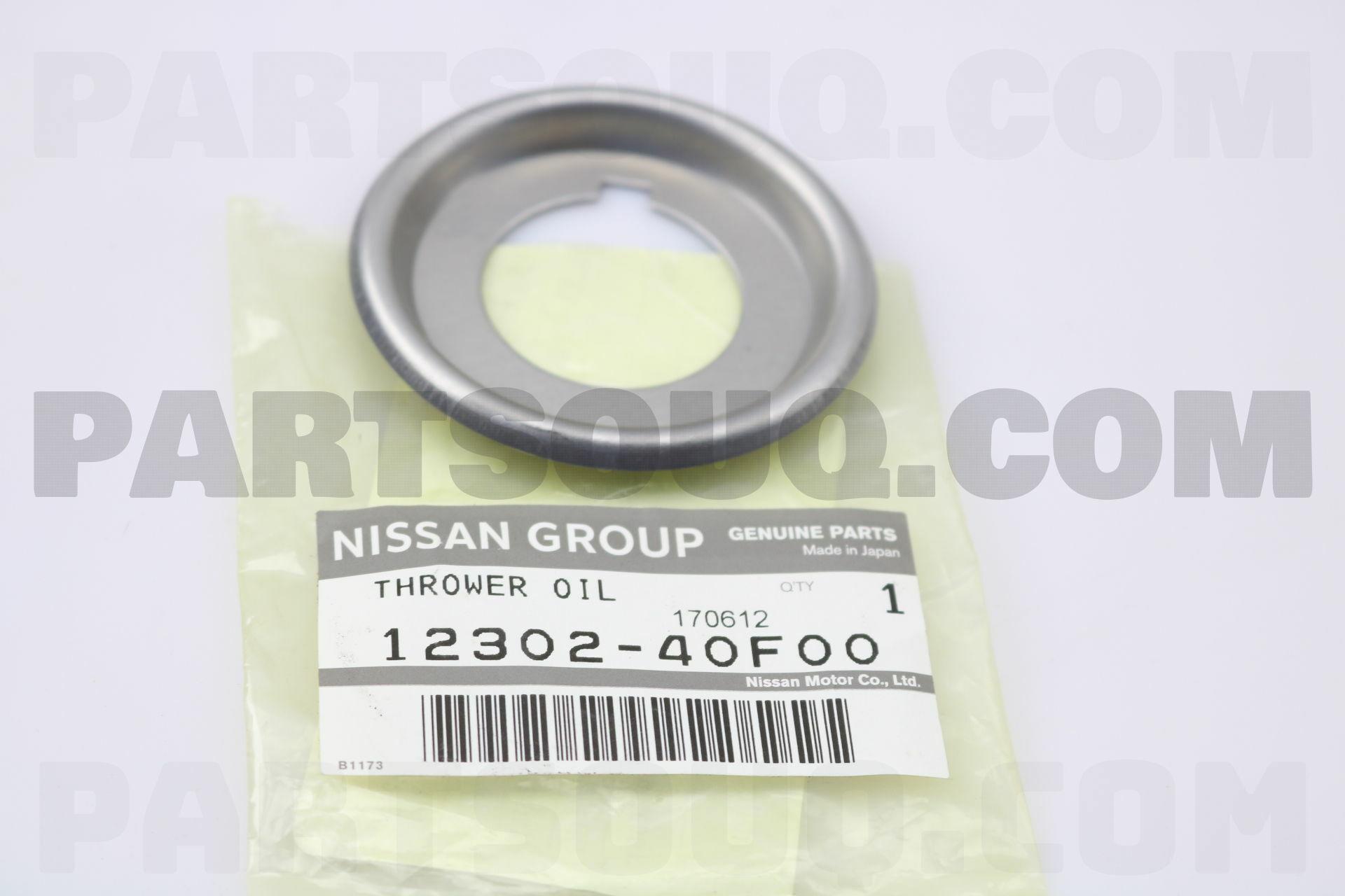 1230240F00 Nissan THROWER-OIL,CRANKSHAFT Price: 1 81
