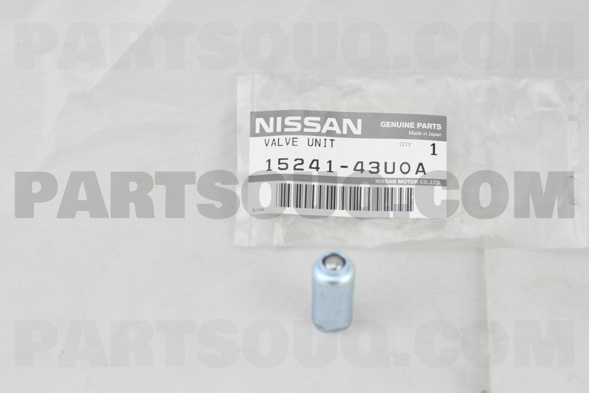 Genuine Nissan Oil Pressure Regulator Relief Valve 15241-43U0A