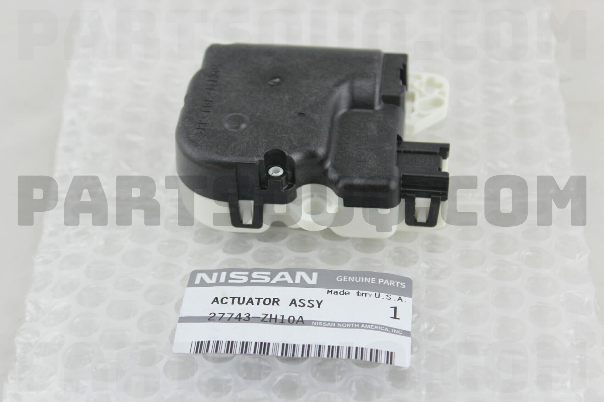 Genuine Nissan Actuator 27743-ZH10A