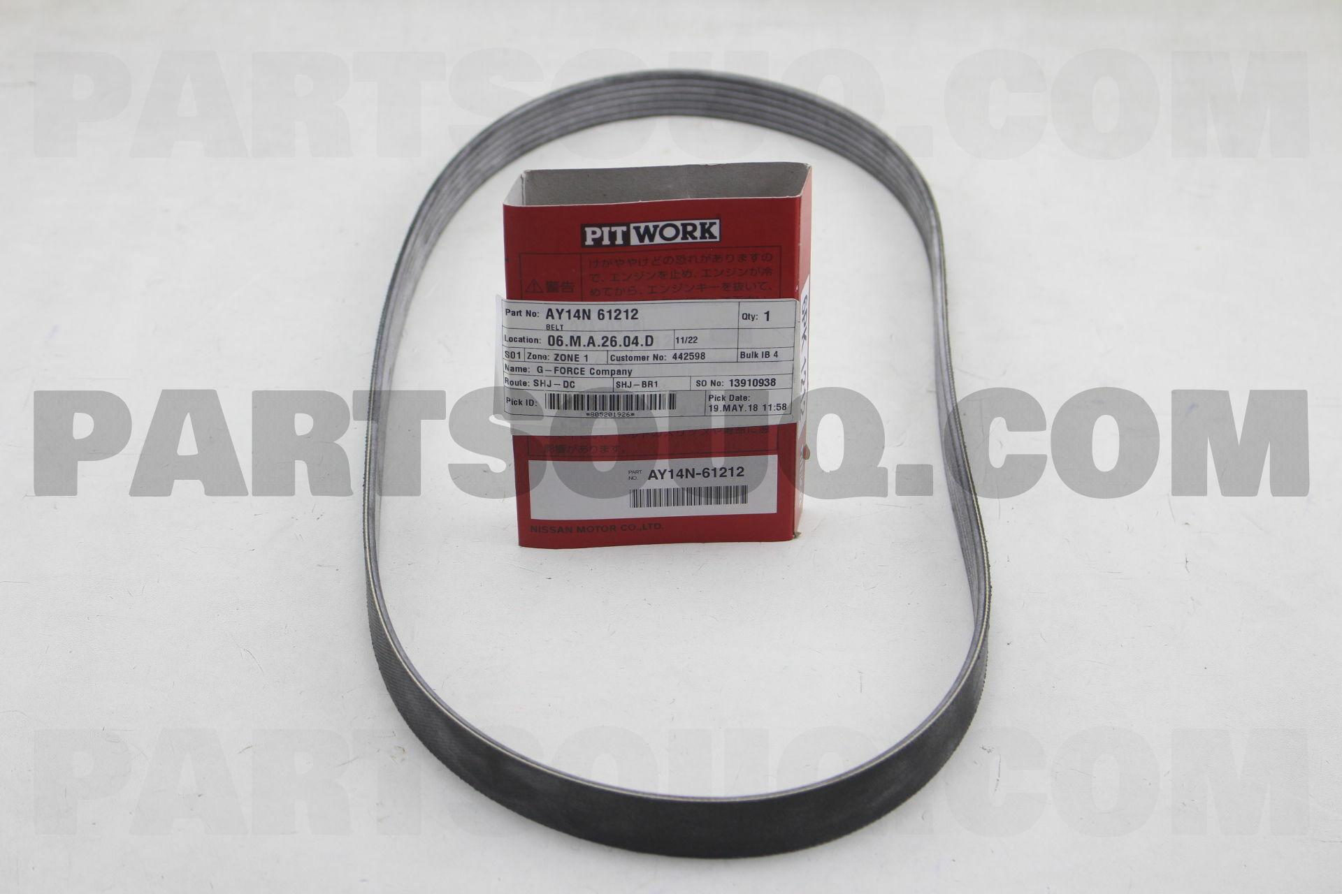 Belt Ay14n61212 Nissan Parts Partsouq