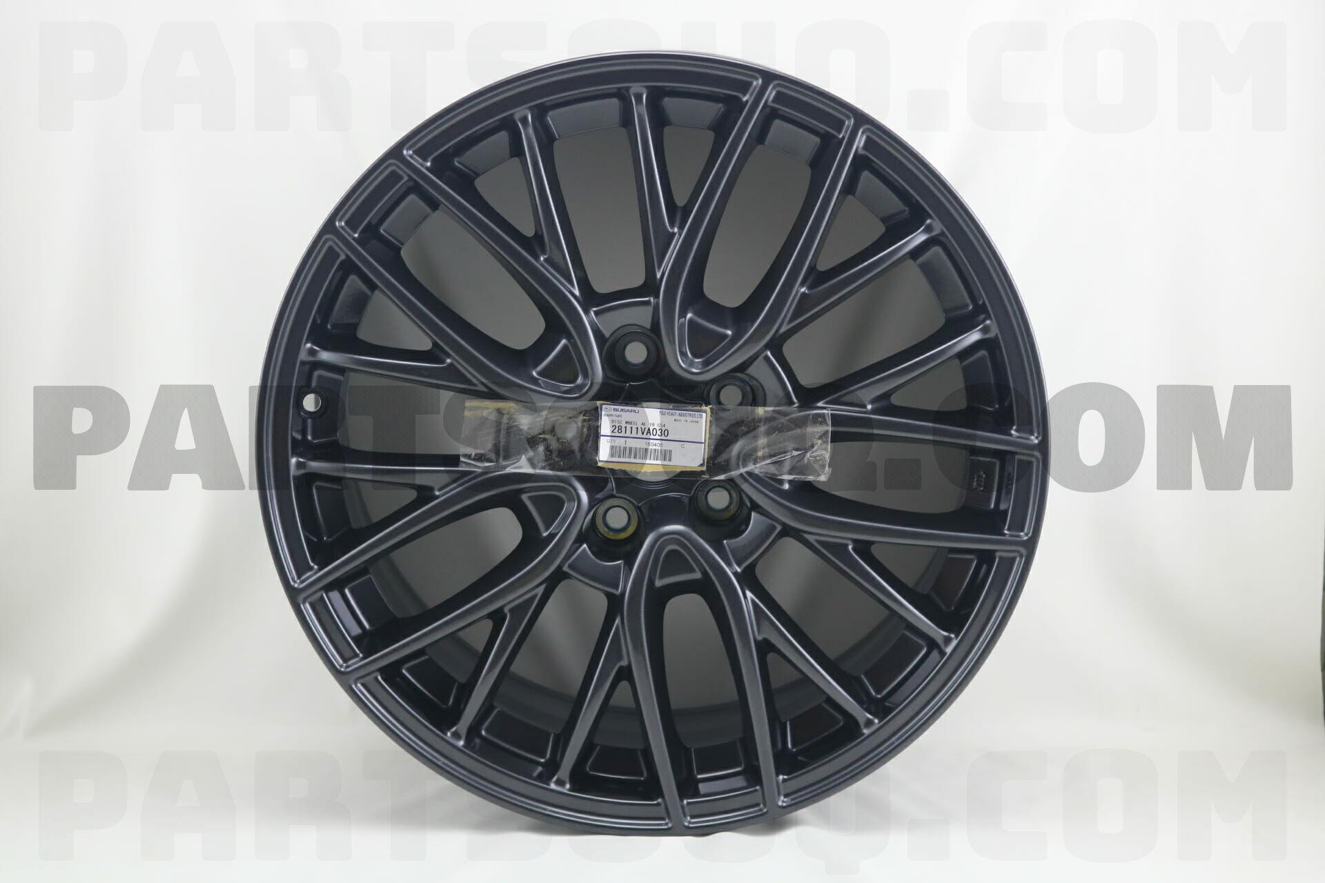 28111va030 Subaru Disc Wheel Al 18 C54  Price  371 69   Weight  12 59kg - Partsouq