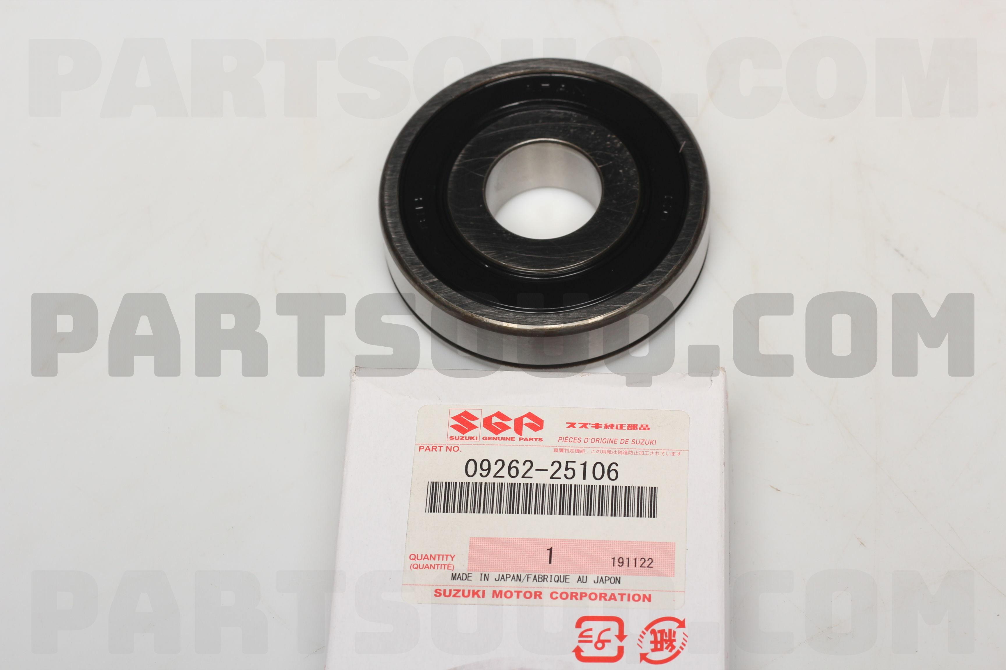 0926225106 Suzuki Bearing  25x72x19   Price  31 48