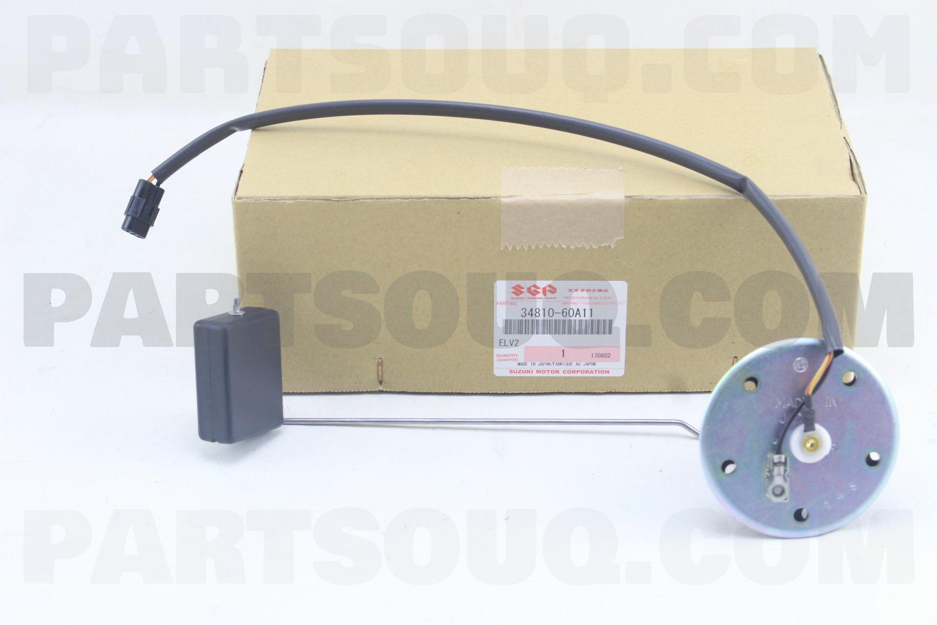 34810-60G01-000 Suzuki Gauge assy,fuel level 3481060G01000 New Genuine OEM Part