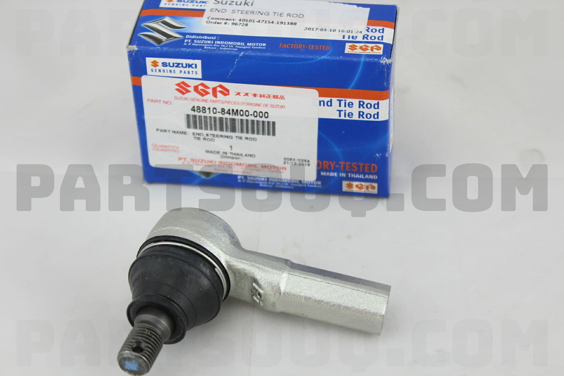 4881084M00 Suzuki END STEERING TIE ROD Price: 20 07$, Weight: 0 49kg