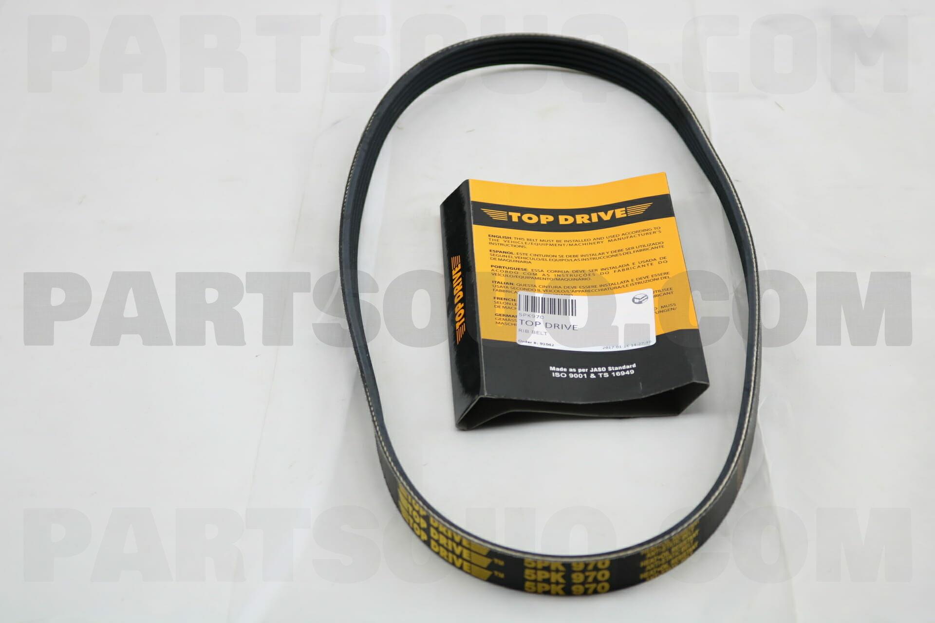 Contitech V-Ribbed Belt 4PK1080
