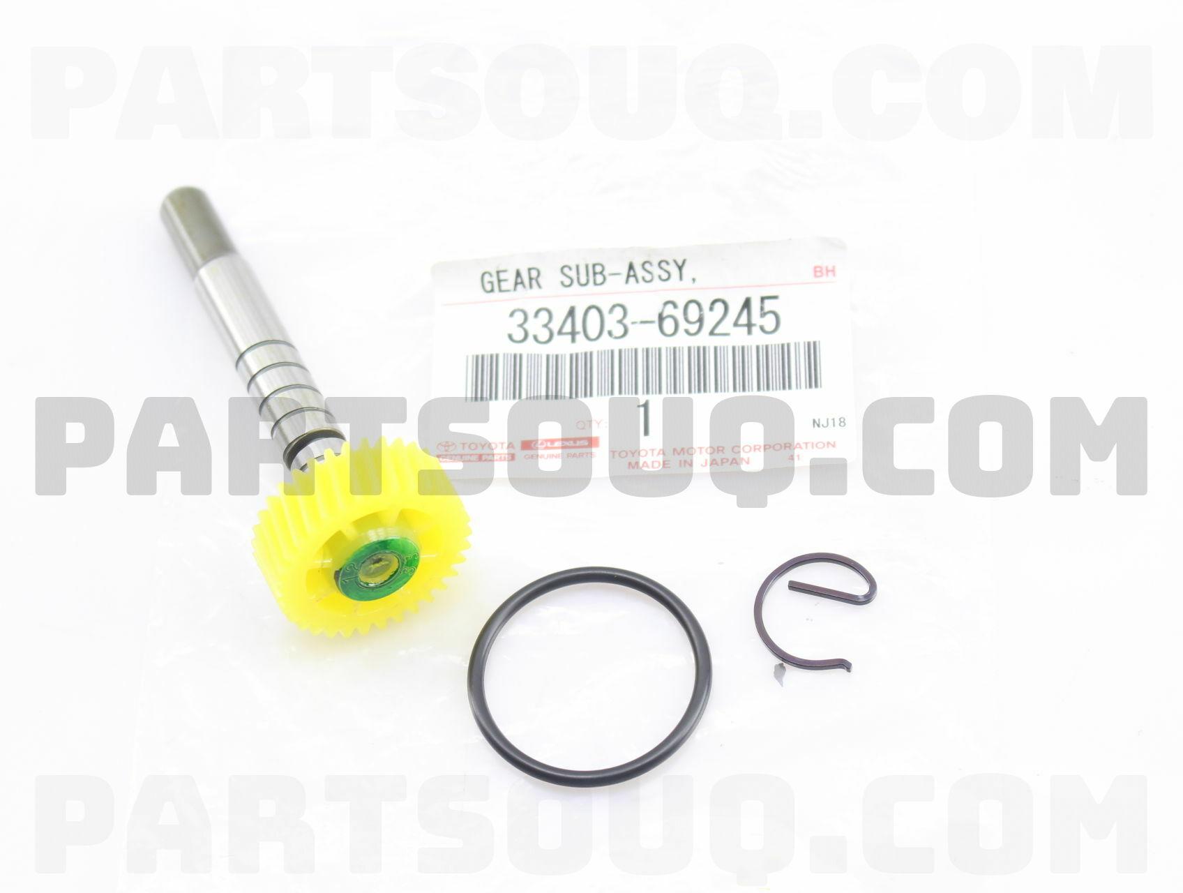 Toyota 33403-69245 Speedometer