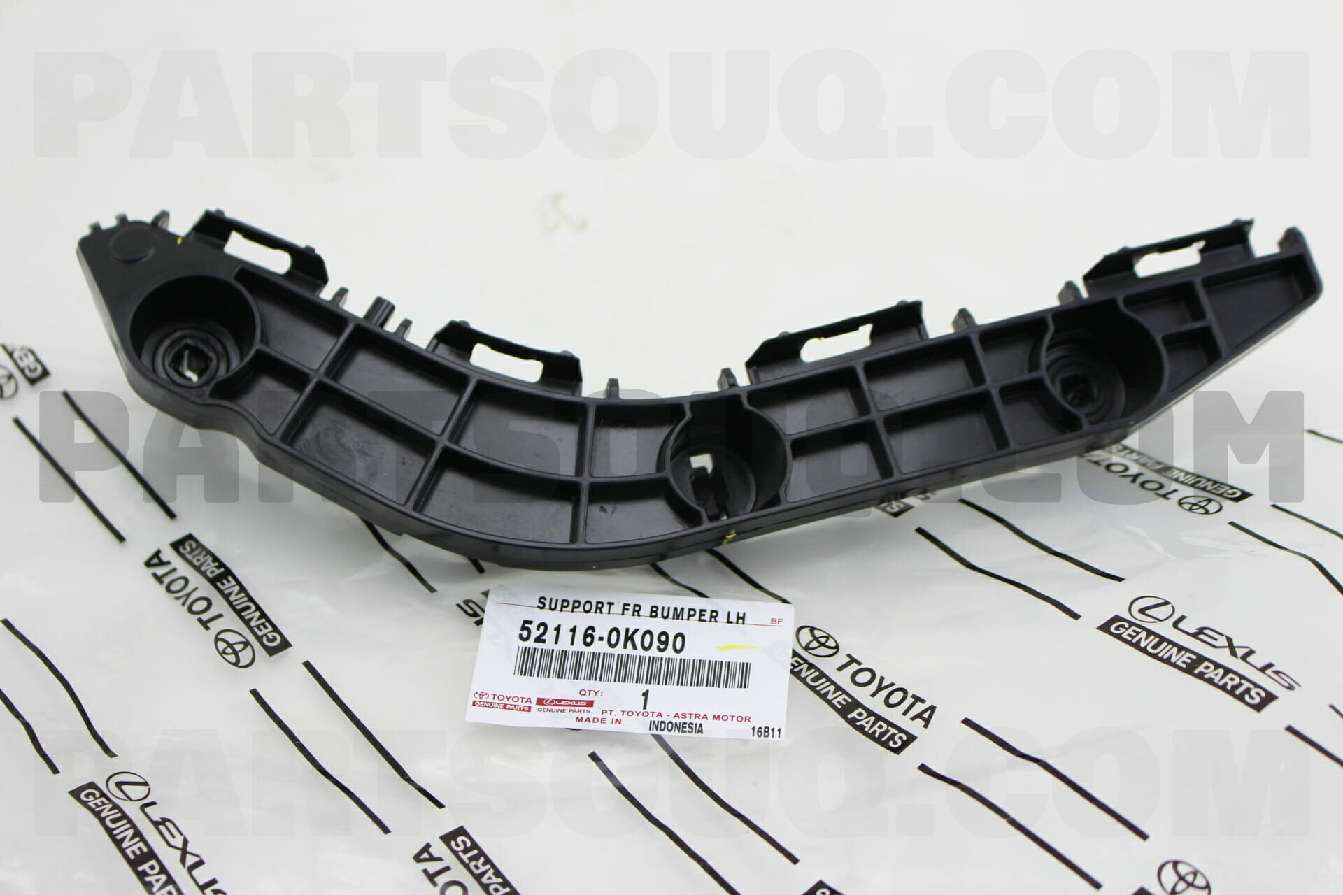 Toyota K090 SUPPORT FRONT BUMPER SIDE LH