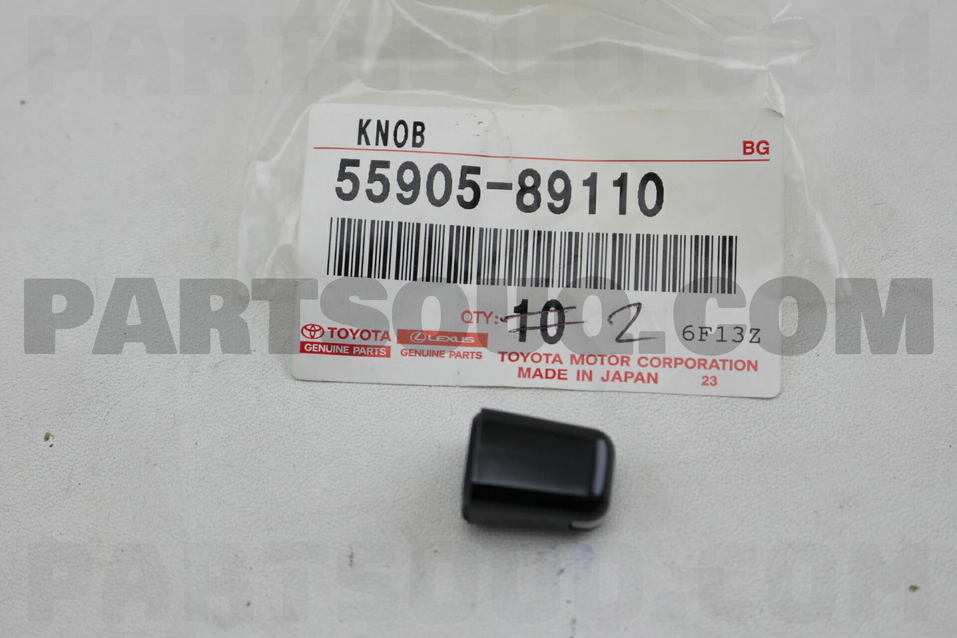 Toyota 55905-95J01 Heater Control Knob