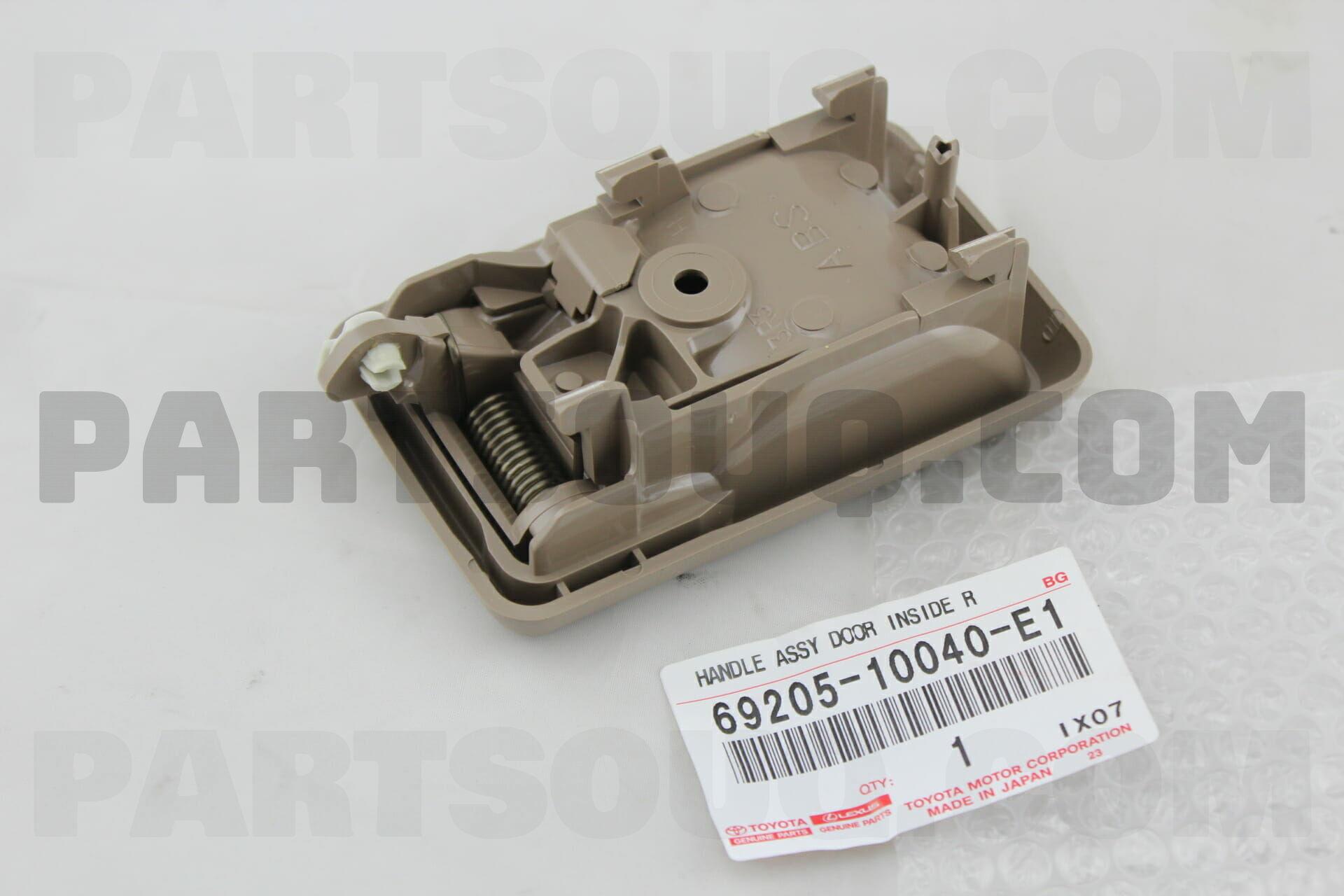 Toyota 6920510040E1 HANDLE SUB ASSY, FRONT DOOR INSIDE, RH