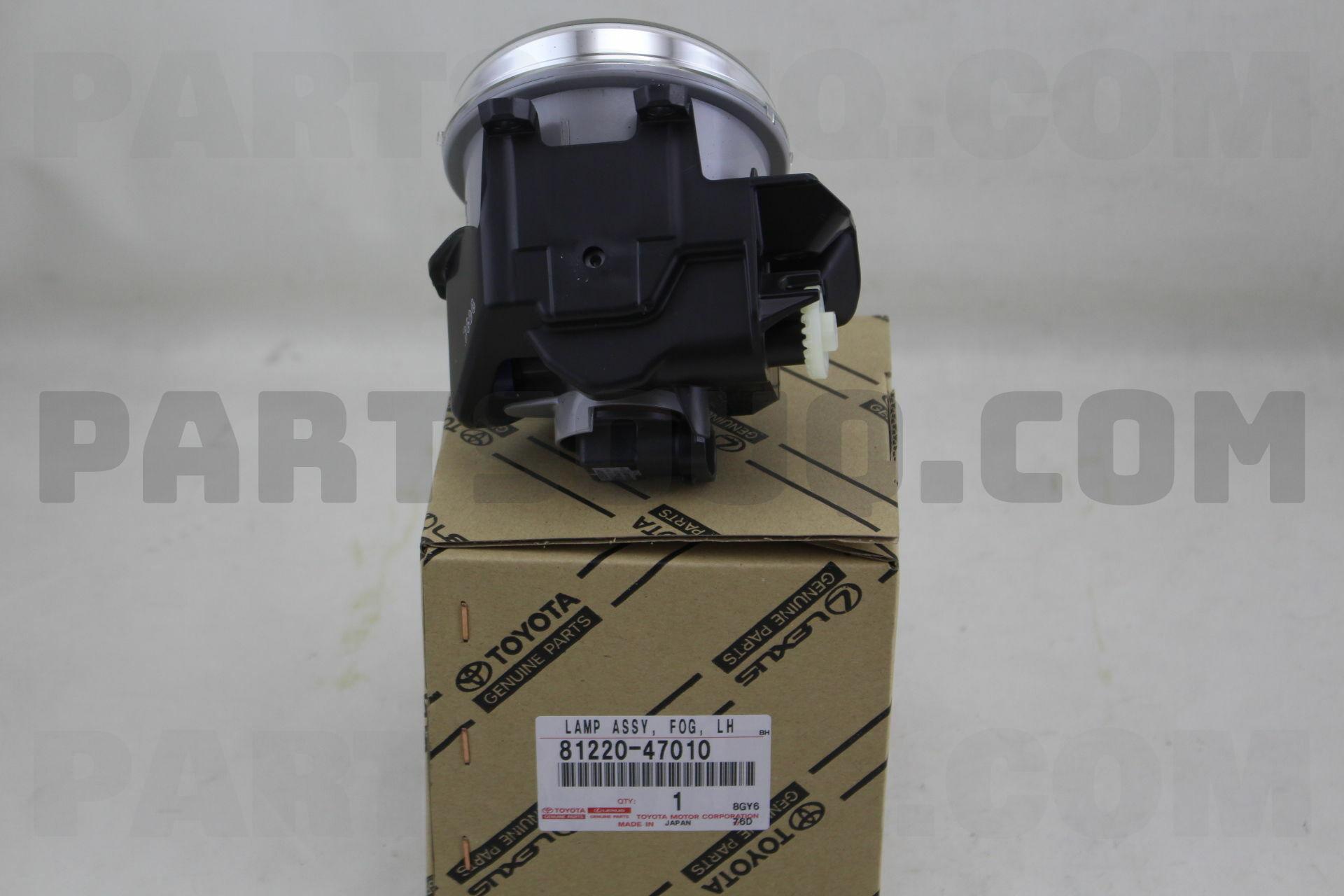 LH 81220-47010 8122047010 Genuine Toyota LAMP ASSY FOG