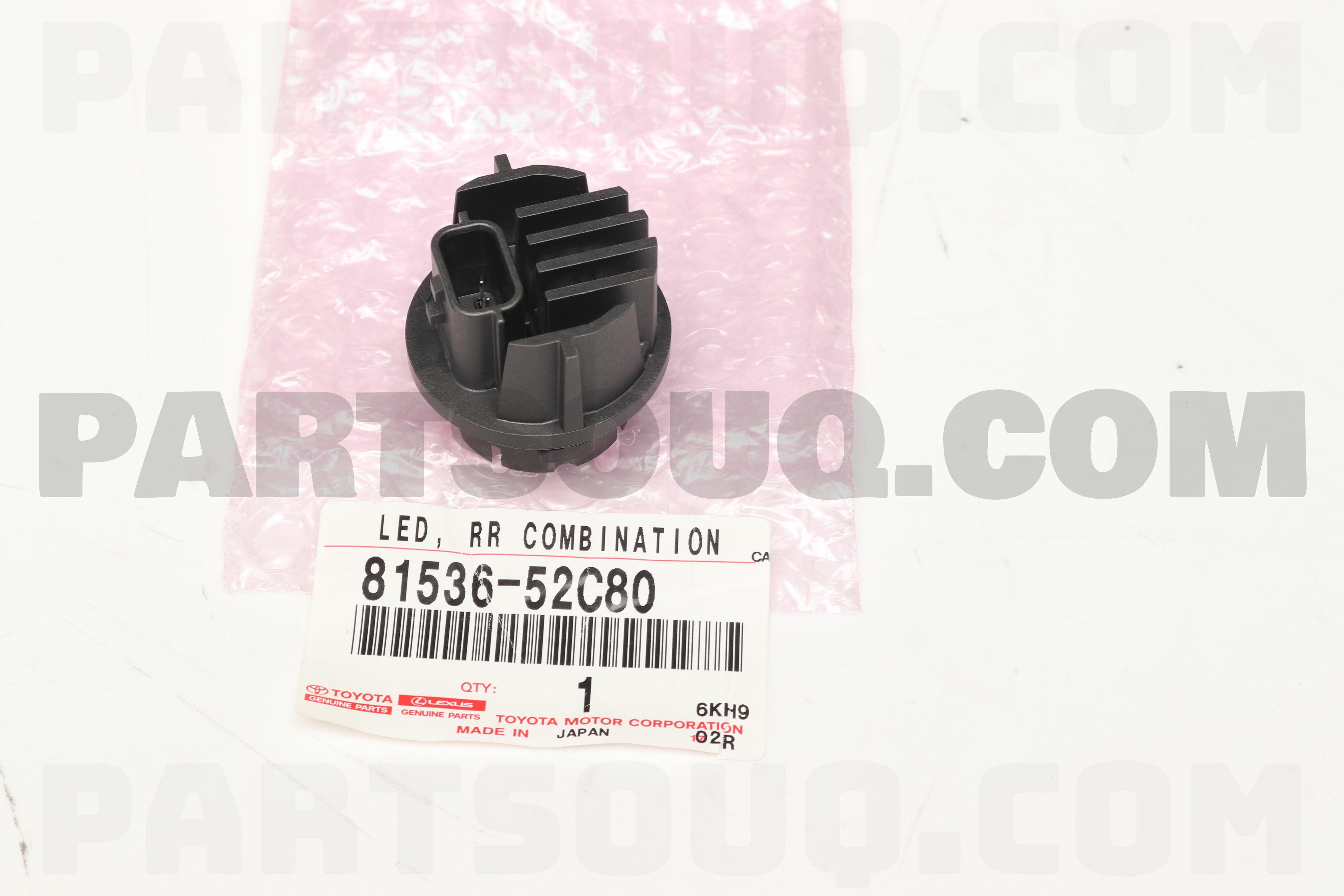8153660C30 Genuine Toyota LED  RR COMBINATION 81536-60C30