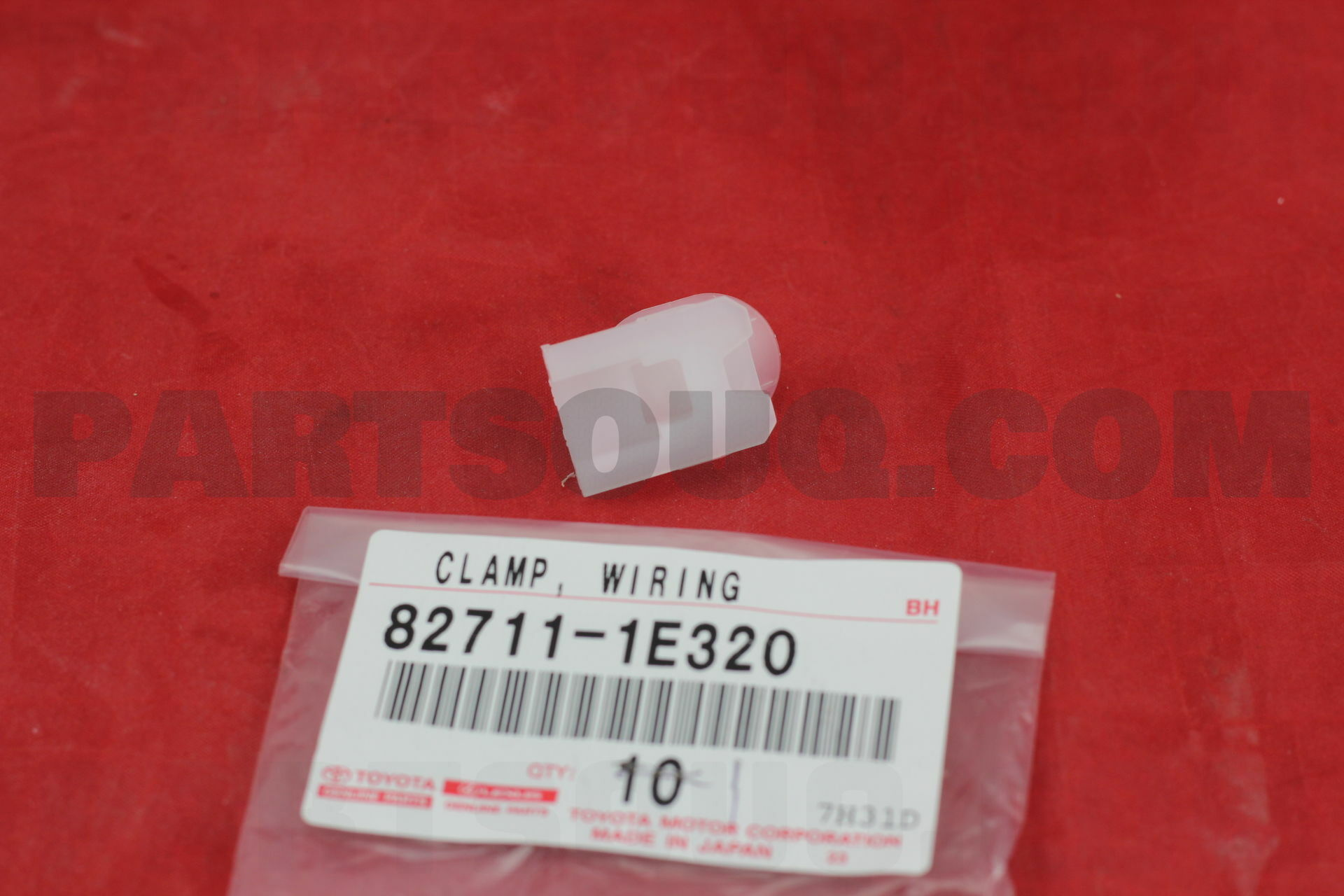 827111E320 1 827111e320 toyota clamp, wiring harness price 0 53$, weight 0 001
