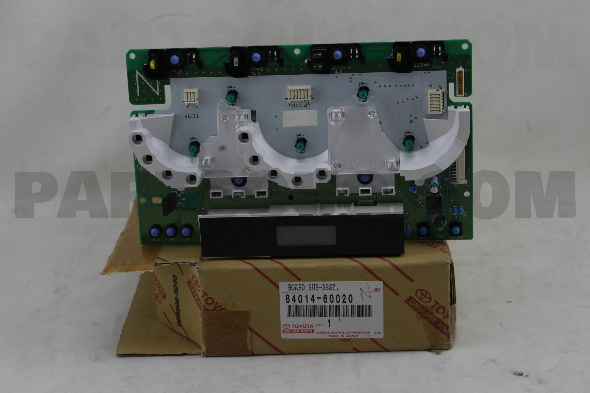 8401460020 Toyota BOARD SUB-ASSY, PRINTED WIRE INTEGRATION Price ...