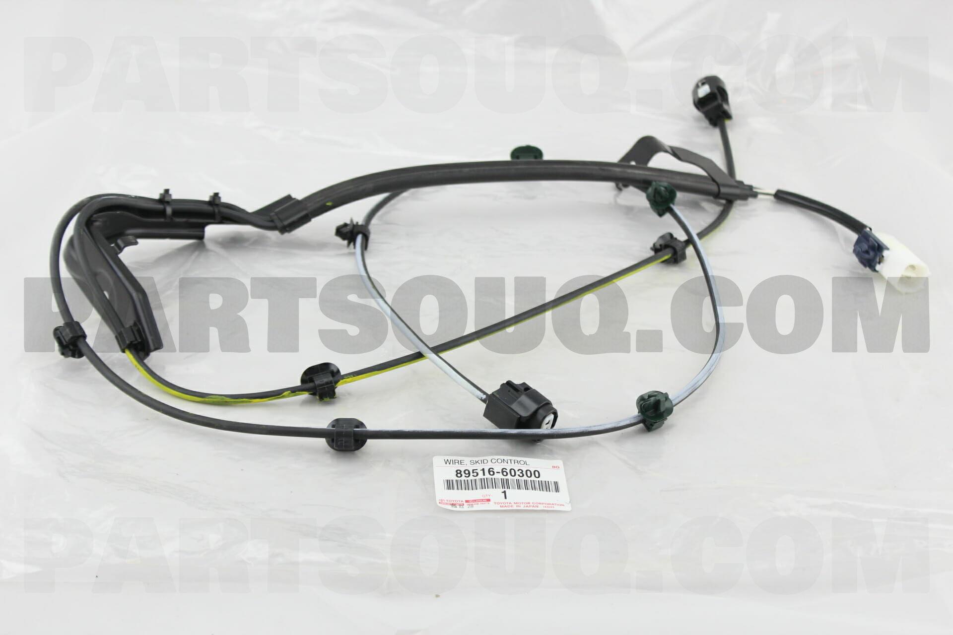 8951660300 Toyota WIRE, SKID CONTROL SENSOR Price: 64.53$, Weight ...